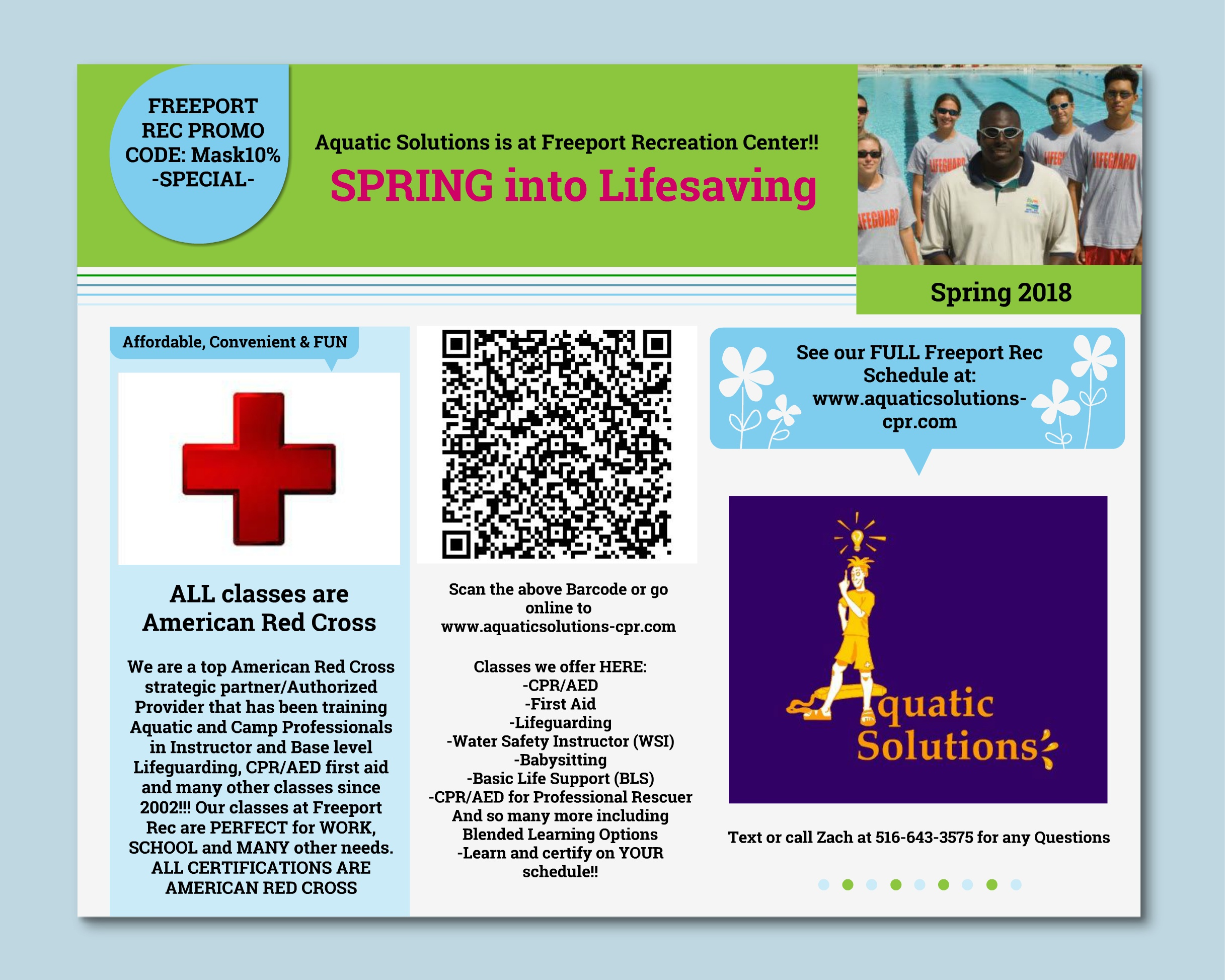 Freeport Ny Official Website American Red Cross Classes