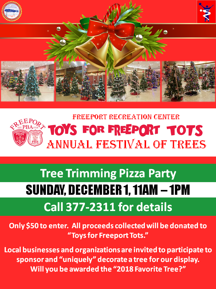 Freeport_Recreation_Annual_Festival_of_Trees_2019